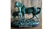 bouby-yves-piller-vieux-bois-bronze-2-chevaux